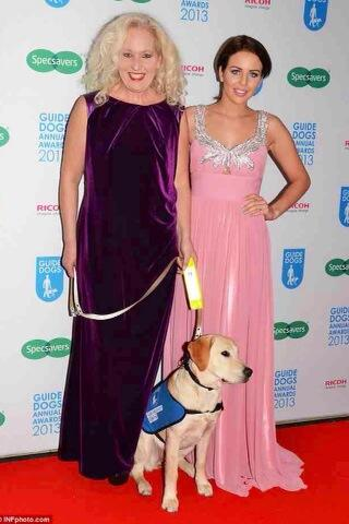 Me & yummy mummy @debbietowie last night at the @guidedogs ball Wearing powder pink NEW IN @bellasorella251 http://t.co/sAHQzxpU7l