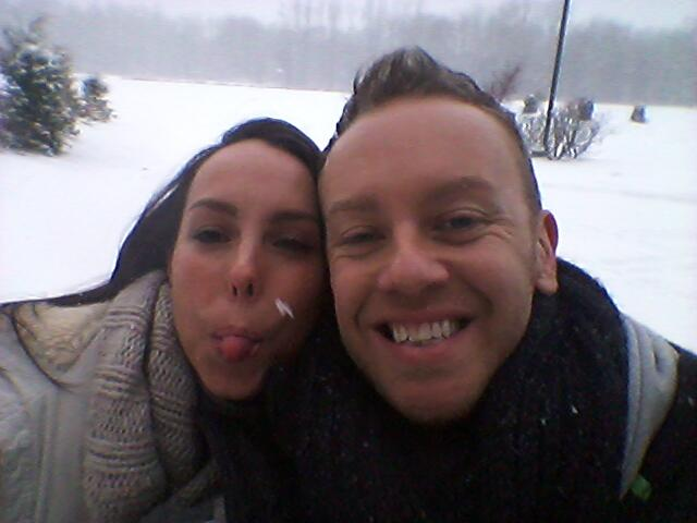 RT @bethtweddlenews: Playing in the snow with @TheDanWhiston #suchchildren http://t.co/I8ti91xYhV