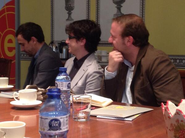.@juanmanfredi, @JGToni and @rullanrabassa at #elcanotalks. http://t.co/TtZLUqe1QN