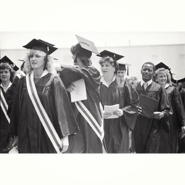 It's the final countdown...Commencement is in 2 days. A #tbt to 1986. #EKUArchives #EKU #EKUGrad http://t.co/vBjUXUcdap