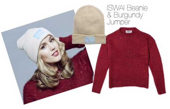 RT @ISWAI1: Get @Caggie_Dunlop's look with our new ISWAI Beanie http://t.co/YDbClS9F6D http://t.co/KT2of2f9Ut