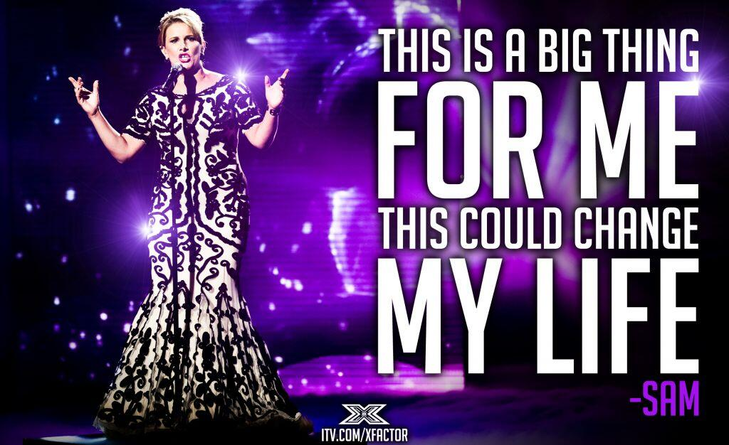 RT @TheXFactor: #SamBailey Day: What winning the #XFactor would mean to @SamBaileyREAL… http://t.co/DhrT42VHNS