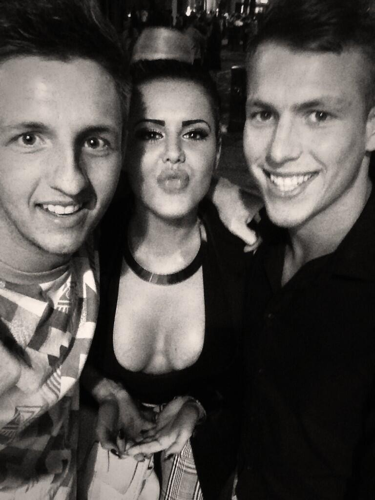 RT @Rossus: @Spow_Spow Last night was a bit decent like!! Me, you and @NicoleValleys #naughtynight ❤️ http://t.co/aUM9QZuiEI