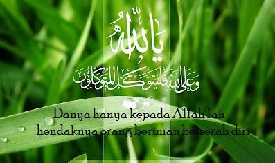 Wallpaper Islami Twitterissa Dan Hanya Kepada Allah Lah