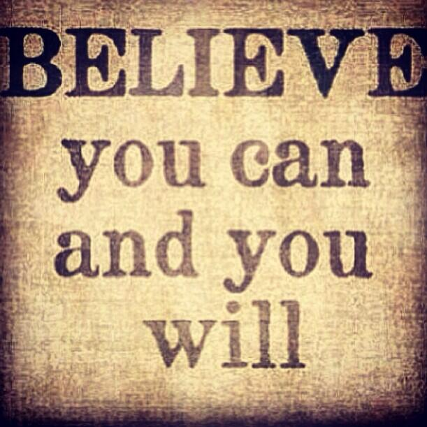 Good Morning! BELIEVE you can and you will. #Believe #PositiveThinking http://t.co/TNWFPNb3pd