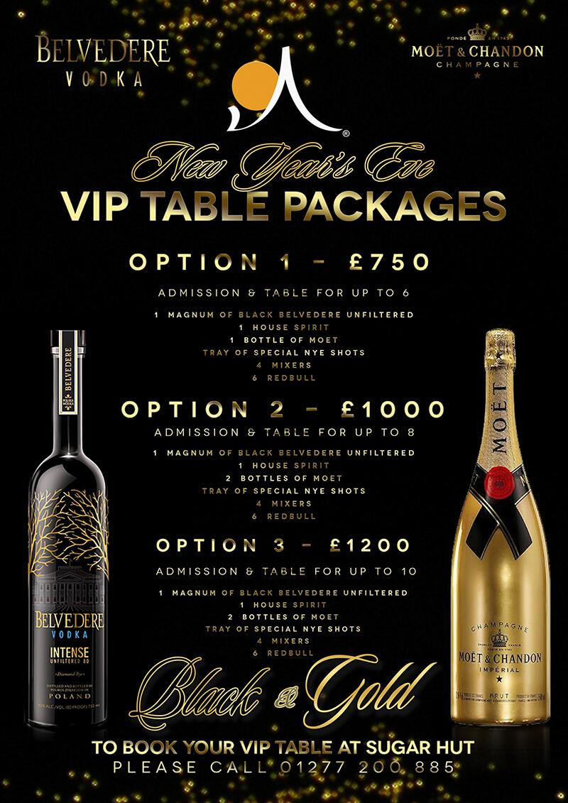 Check out our NYE Table packages ... They are getting booked up quickly!!! Call us on 01277200885 to secure yours http://t.co/d0EN2wPsXu