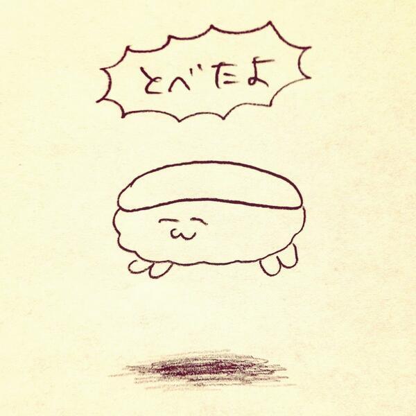 Twitter発・脱力系マンガ!おしゅしだよブームがじわじわ来る♡!