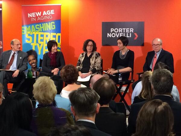 Breaking stereotypes. New age in aging @porternovelli DC #PNnewaging http://t.co/rxbGzZmBPG