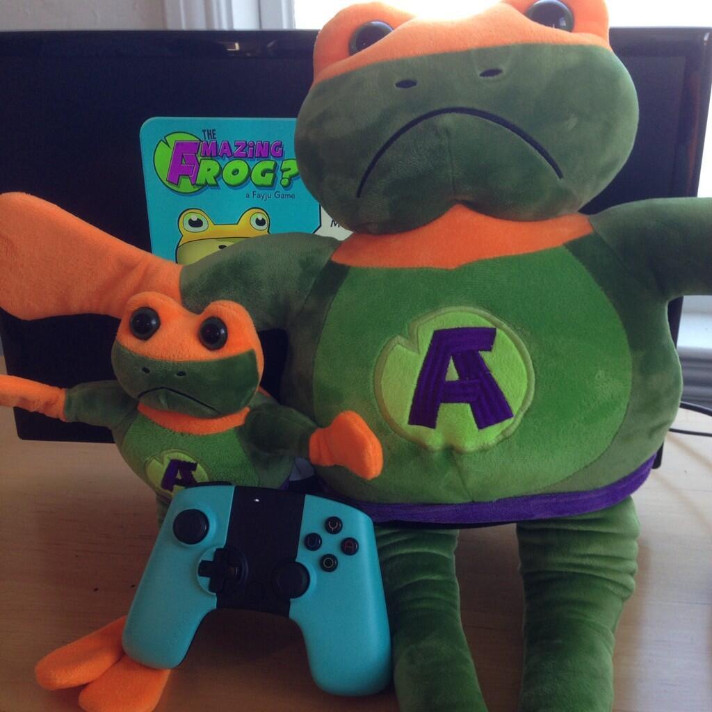 "Amazing Frog: OUYA On Twitter: ""Because, Amazing Frog. @fayju Http://t"
