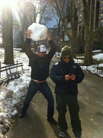 #tbt. Me losing a snowball fight in new york. #concush http://t.co/a26mSlHtnZ
