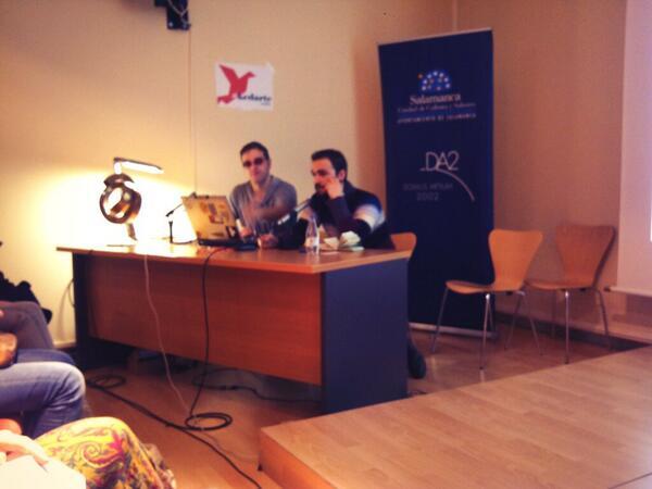 """""""¿Por que son todos de #Valladolid?"""" @PROYECTERIA #kedarteredes2013 #talleronline http://t.co/evLs2R49M1"""