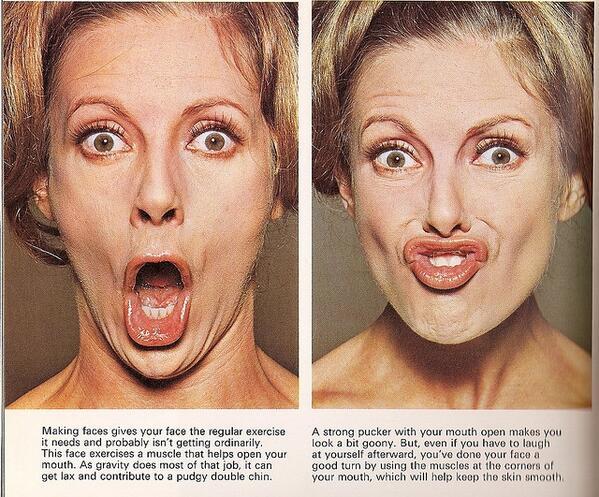 Facial Exercising 76
