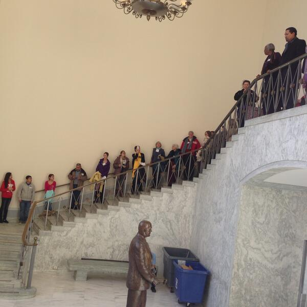 BREAKING NEWS! Over 1500 activists visiting over 200 Congressional offices asking for #CIR. #TimeIsNow http://t.co/jfrGlcr5YG