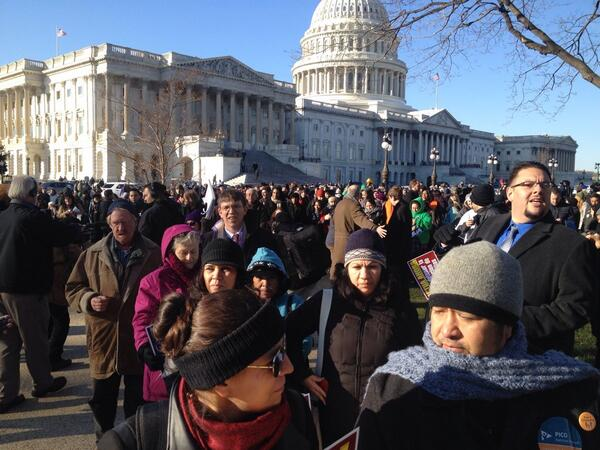 Marching in DC #NotOver #TimeIsNow @ISAIAHMN http://t.co/8H2gxJZqBA