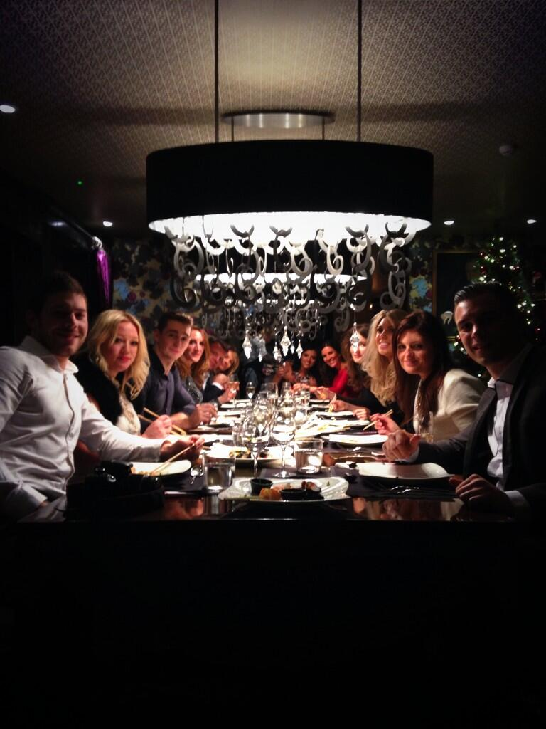 Private dining with the @Resultswithlucy team at @subzerowolf #Queenofthetable http://t.co/AvkU2vCF2P