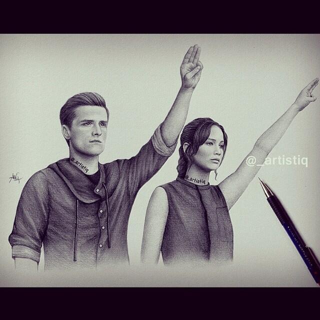 Hunger Games Peeta Drawing artistiq on Twi...