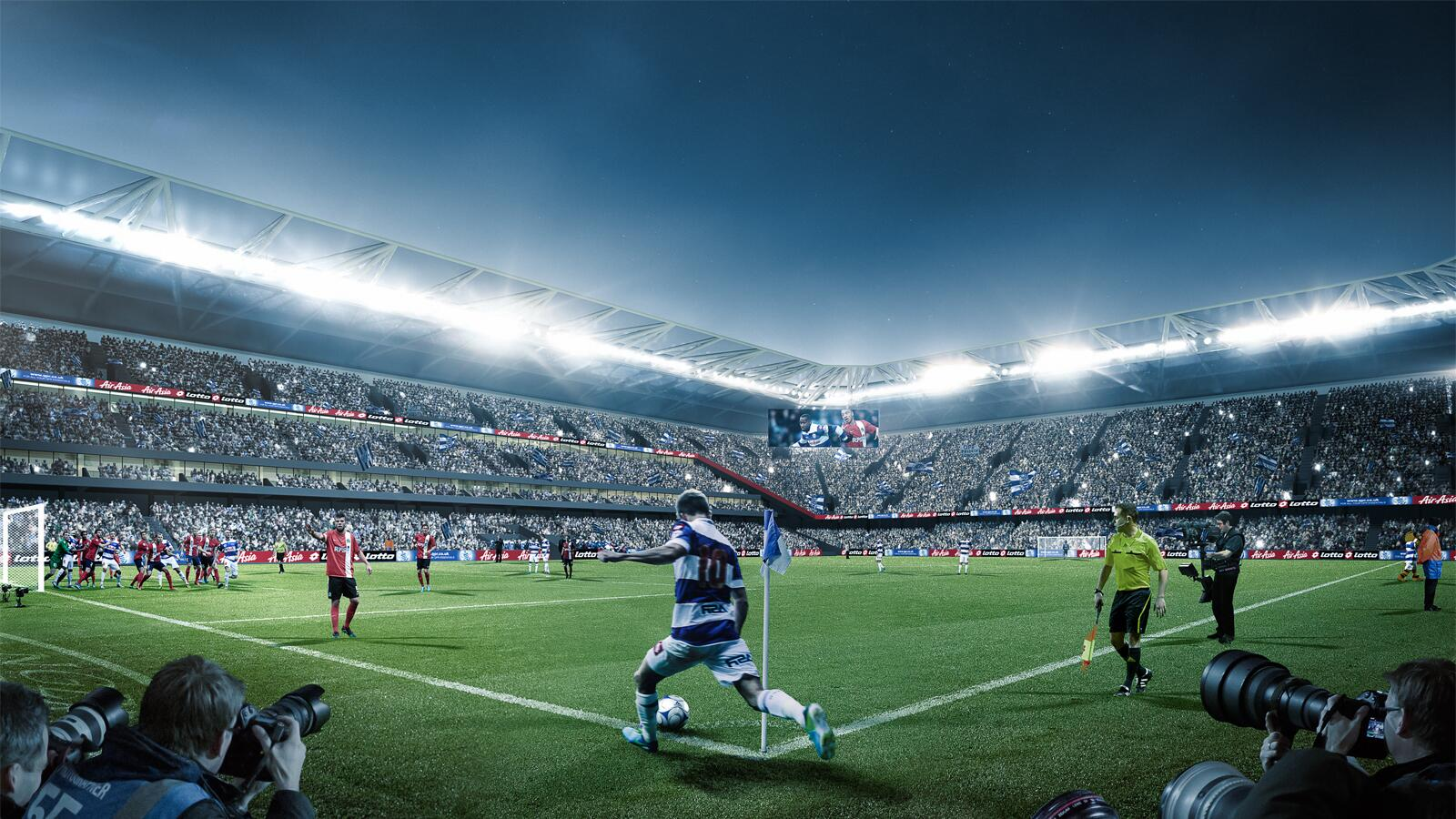 Image of new QPR ground