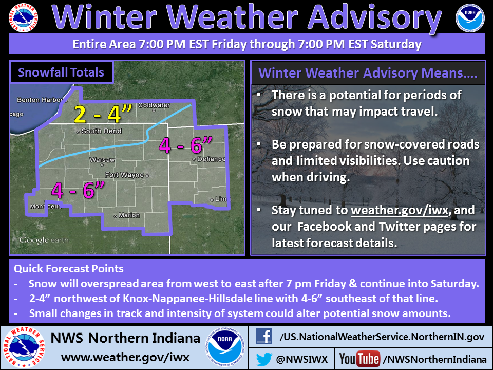 Winter weather advisory graphic