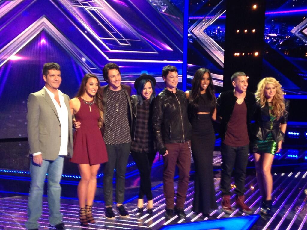 .@TheXFactorUSA Judges and their finalists http://t.co/EHhWd3Btpj