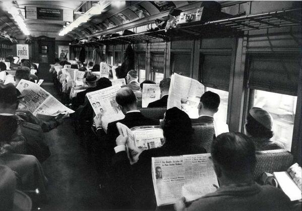 All this technology is making us antisocial. via @HistoryInPics ~ http://t.co/7HHoRNDM2e