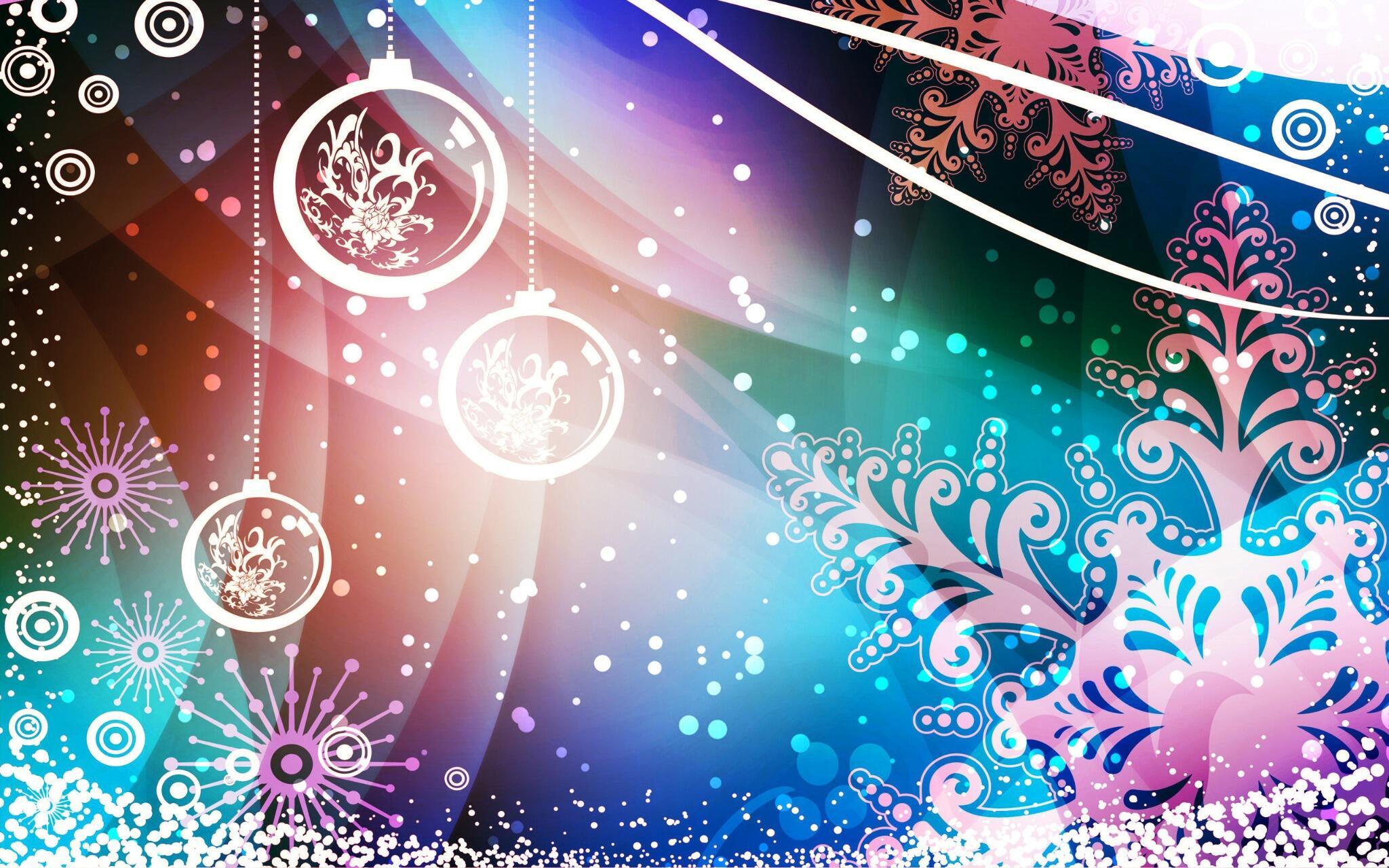 Новогодний узор на новогодних открытках, рамки для