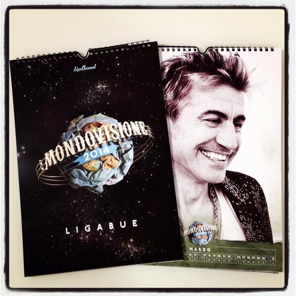 Calendario Ligabue.Luciano Ligabue On Twitter Mondovisione Calendario 2014