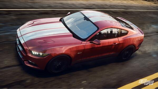 2015 Ford Mustang Need for Speed Rivals