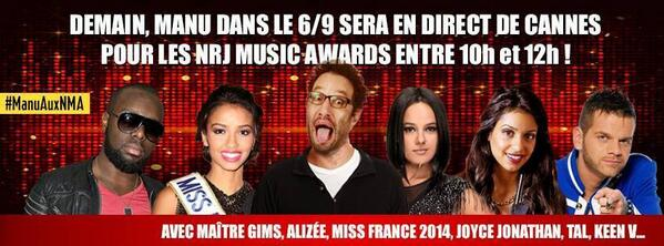 [EVENT] NRJ Music Awards - 14.12.2013 - Page 3 BbYoWgcCIAASRVi