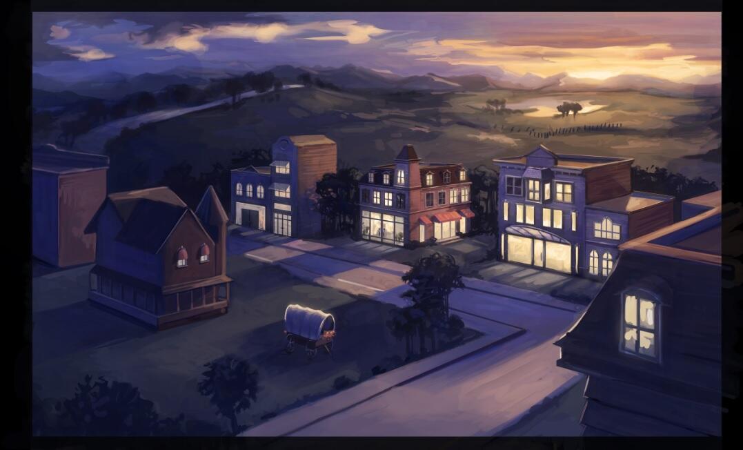 """[Imagen]Arte conceptual """"Sala de Vampiros"""" y """"Appaloosa Plains"""" BbZCRfbCAAAIAKm"""