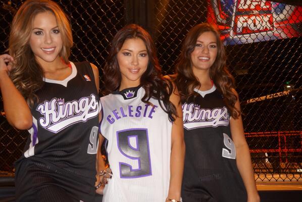 Arianny Celeste Brittney Palmer customized Sacramento Kings jerseys