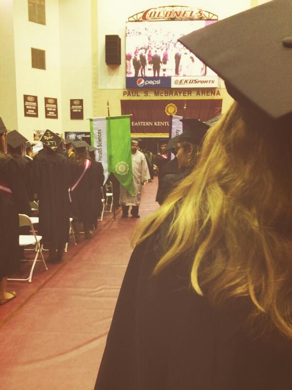 My view now #ekugrad http://t.co/9Z9WjjTr6E