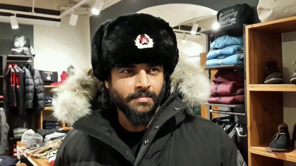 Madhavan's stunning Russian look
