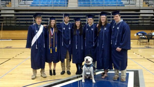 Congrats to our Winter Bulldog Graduates. We love you. Thanks for being Champions & Leaders. http://t.co/ojTIAuKrot