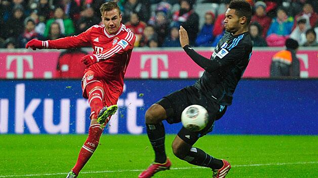 The Great Götzby   Mario Götzes goal for Bayern Munich v Hamburg is an instant classic
