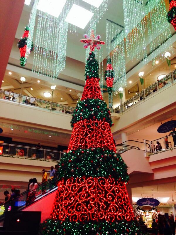 puerto rico on twitter christmas tree at the largest shopping center in the caribbean plazalasamericas puertorico travel httptco97byfxkkmz - Puerto Rican Christmas Decorations