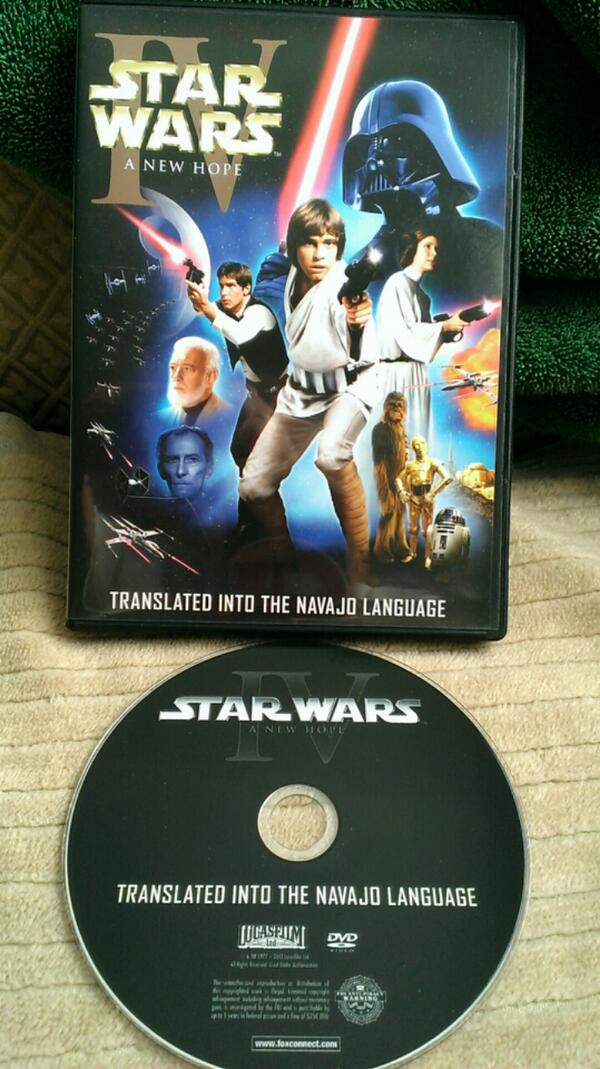 Star Wars Episode Iv A New Hope Navajo Limited Edition Preservation Dvd Cover Original Trilogy