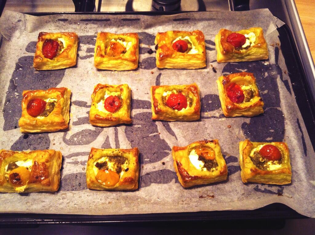 Joni mckenna on twitter canap no 1 puff pastry with for Puff pastry canape