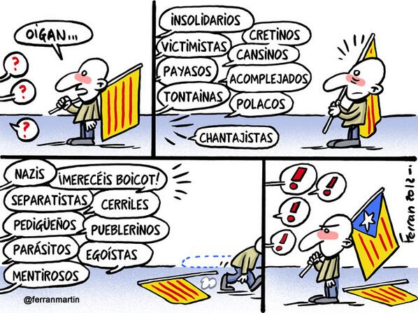 "Ferran Martín on Twitter: ""Viñeta: Oigan. #L6NórdagoMas #humor ..."