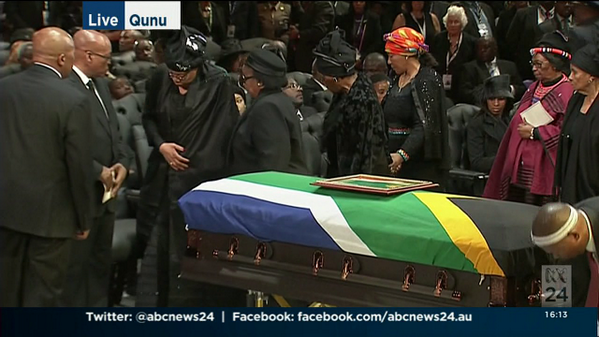 Live: Nelson Mandela's funeral is underway in Qunu. Stream live: http://t.co/9mLGkVjLDn http://t.co/suBo3EqTgd
