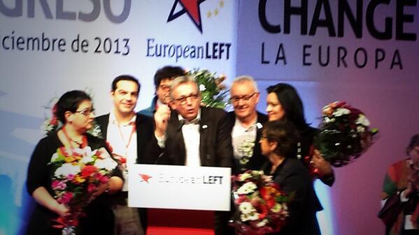 Elected presidency of the #EL @plaurent_pcf @atsipras @Maitemola @mmatias_ @MargaritaMileva and comrade @cayo_lara http://t.co/O6tWdtTvCd