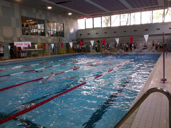 Anne hidalgo on twitter a la piscine georges rigal o a for Piscine georges rigal