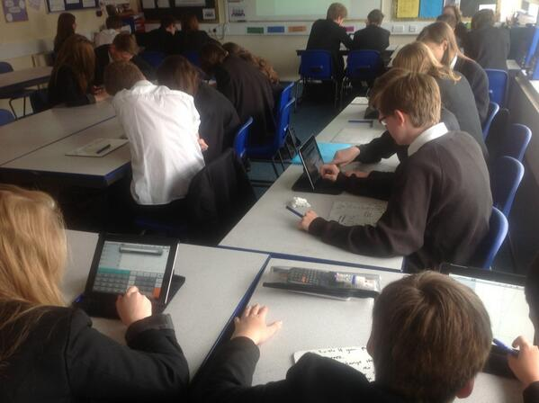 @ICTEvangelist using iPads to investigate quadratic graphs using quick graph app #myipad http://t.co/dlEutERoQG