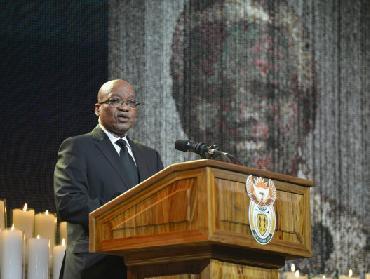 Sudáfrica nunca defraudará legado de Mandela, afirmó presidente Zuma