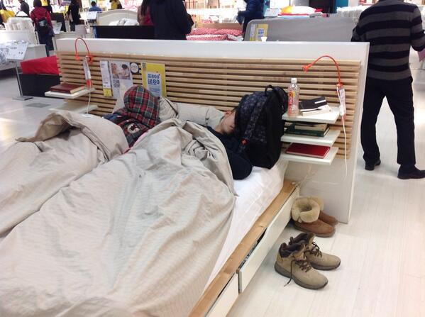 Sunday at Ikea #beijing http://t.co/zgNgQYnAy5
