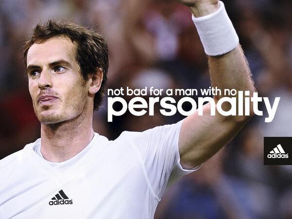 """adidas aprovecha la """"no personalidad"""" de Murray"""