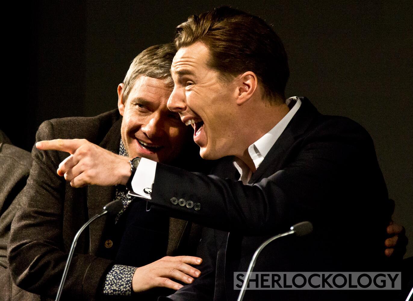 Twitter / Sherlockology: Spoilers were heavy at the ...