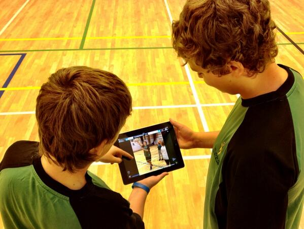 @ICTEvangelist An ipad in my class has enabled students to film & review each others practical performances #myipad http://t.co/XnD2dYvmbZ