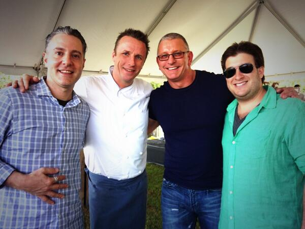 Great event today w/ @chefmarcmurphy @RobertIrvine @1JustinLeonard for @PBFoodWineFest #southerncomfort #pbfwf http://t.co/fDqcC8c5b9