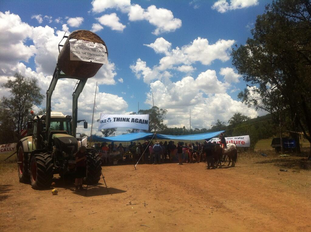 Twitter / FLACCoal: PHOTO: The blockade at Valyama ...