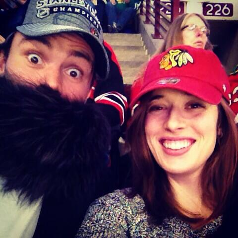 Marina Squerciati On Twitter Paddy Never Goes To A Blackhawks Game